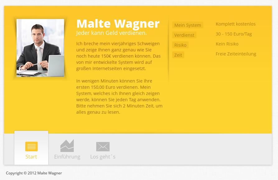 Malte Wagner - Geld Jetzt mit Casinos