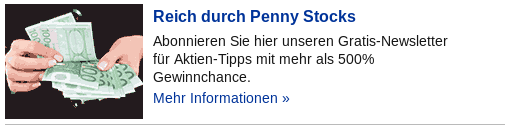 Werbebanner Pennystocks.de