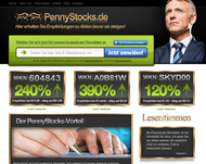 Screenshot pennystocks.de