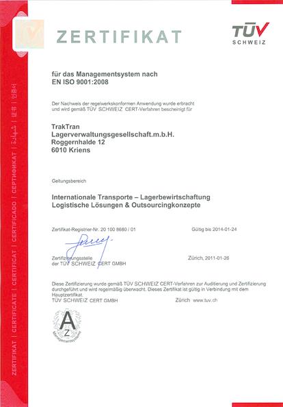 Gefälschtes Zertifikat