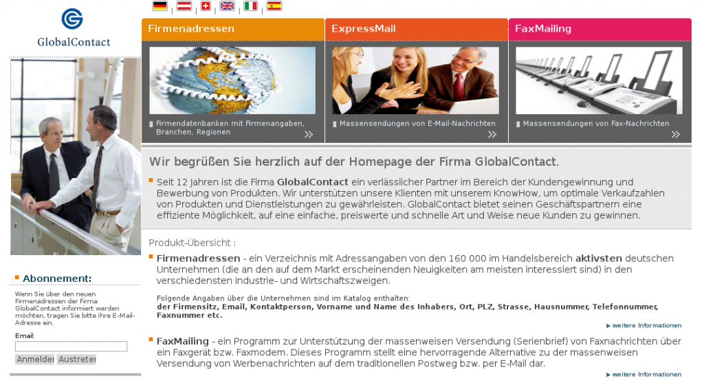 Homepage firmendb.net
