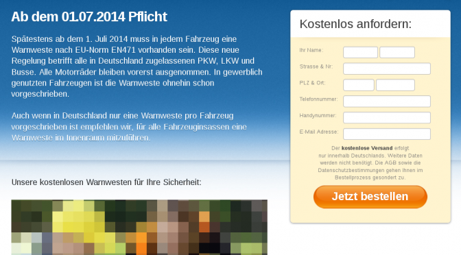 SPAM: Warnwesten