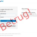 Paypal Betrugsversuch
