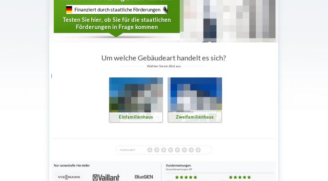 Richpro Internet GmbH Landing page