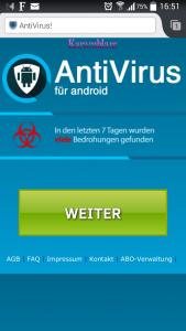 AntiVirus für Android
