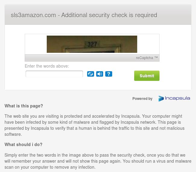 Bild Sicherheitsabfrage