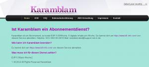 FAQ Karamblam