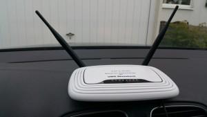 Mobiler Auto-Router