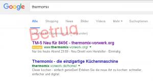 Google-Suche nach thermonix