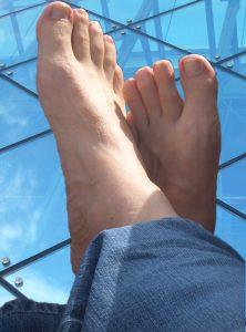 Füße hoch!