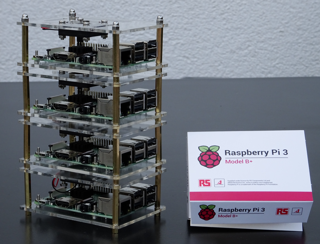 4x Raspberry Pi Cluster